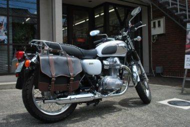 滋賀県の長浜からこのバイクで通っています。