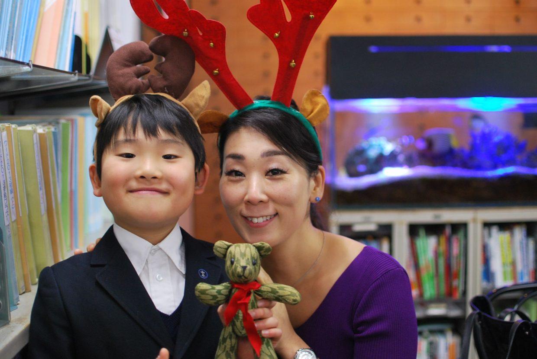 親子でスクールクリスマス