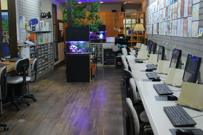 台風のパソコン教室
