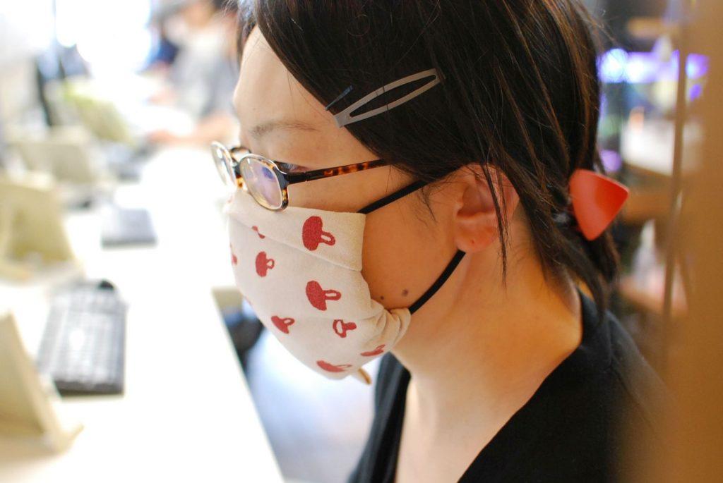 マスクもいろいろ楽しめます