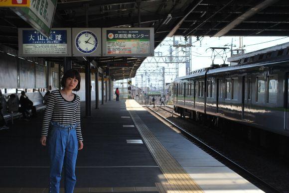京阪電車藤森駅
