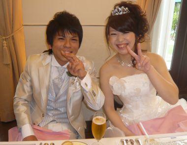 健太郎結婚式
