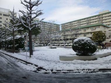 藤森駅の近くの公園